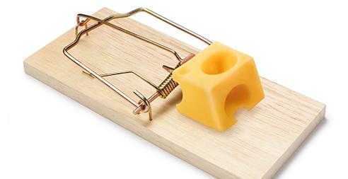 При чем здесь сыр и мышеловка?!